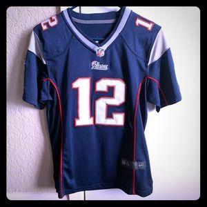Youth Tom Brady jersey size L